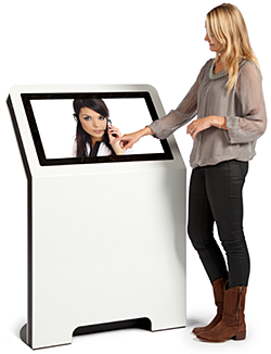 Medium Height 2D Kiosk