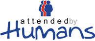 Attended by Humans Logo